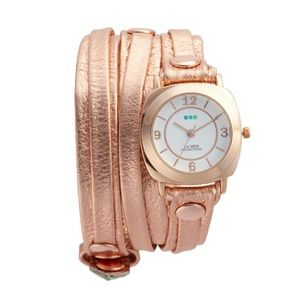 NWT Anthropologie La Mer Rosegold layered Watch